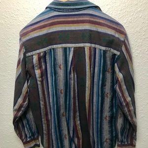 Tops - 70sVintage Rare Native American festival shirt